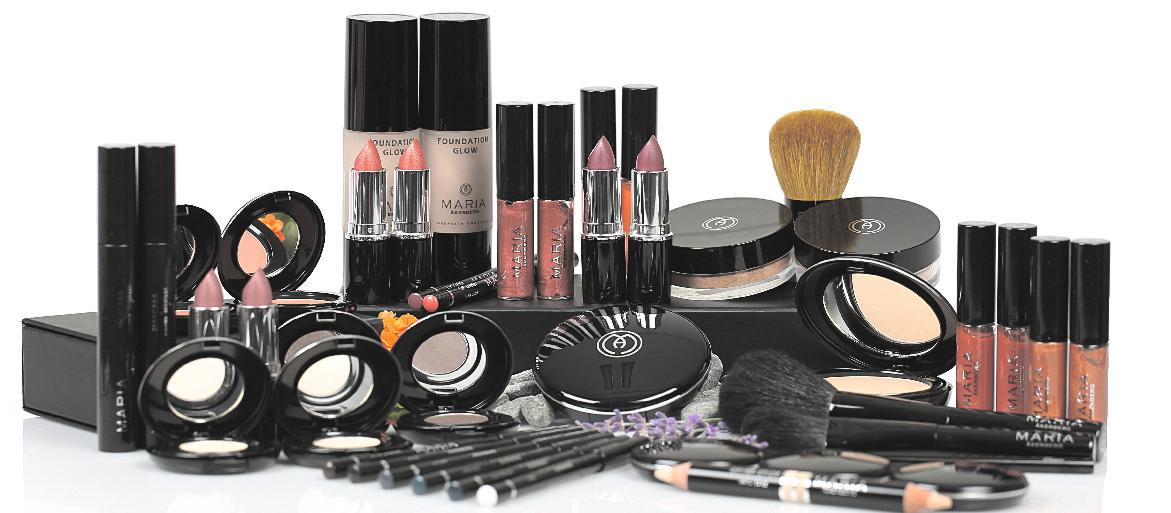 Ekologisk makeup som är en förlängning av hudvården, från Maria Åkerberg