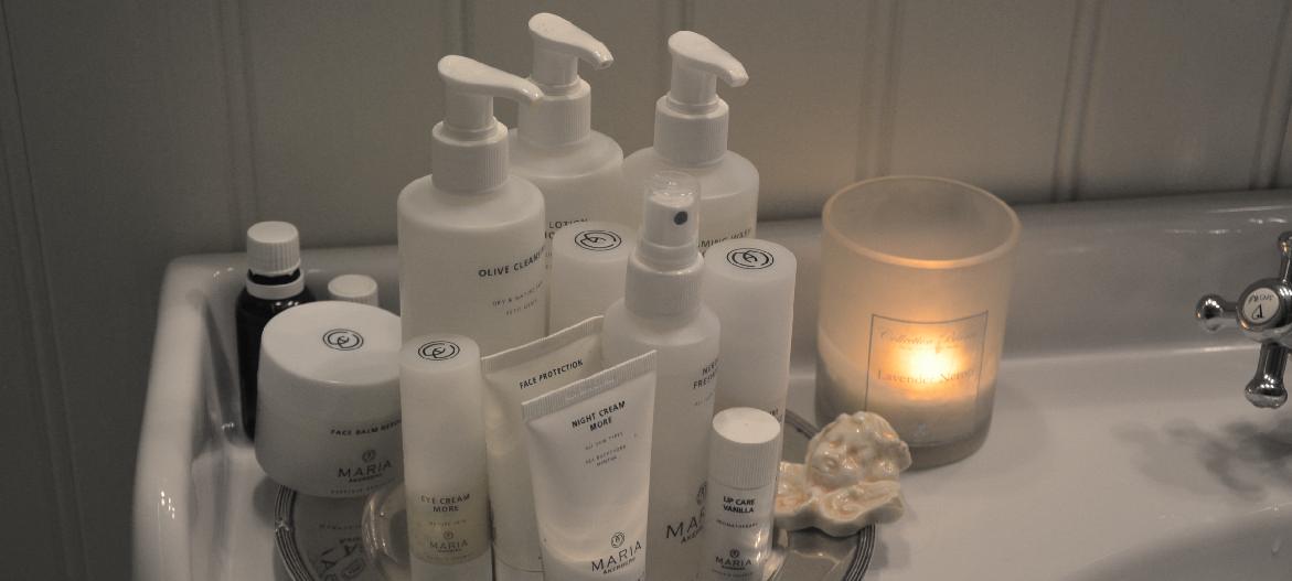 Ekologiska hudvårdsprodukter från Maria Åkerberg