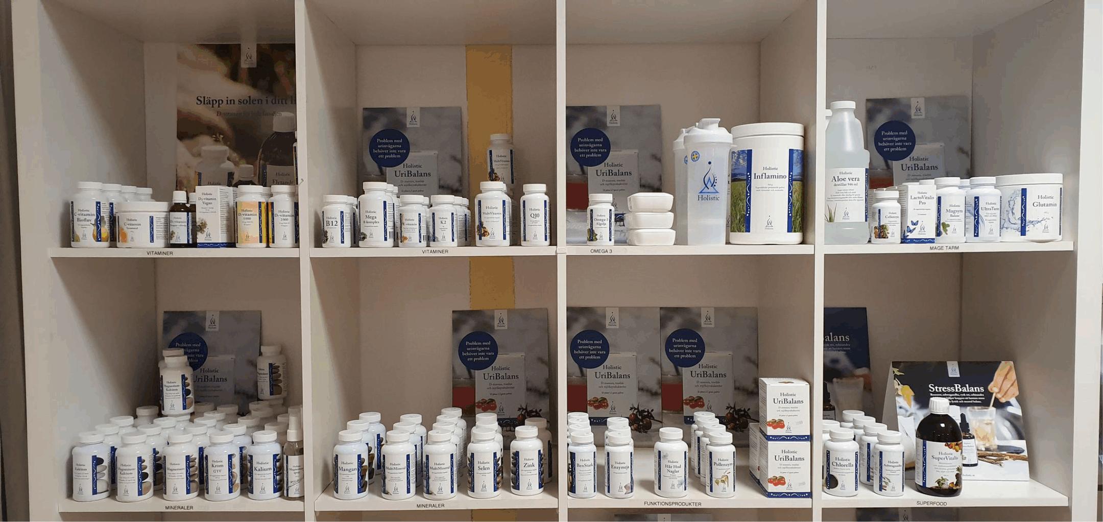 Hälsokost från svenska Holistic